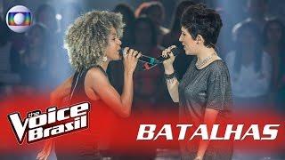 Jéssica Stephens e Joana Castanheira cantam 'Into You' nas Batalhas – 'The Voice Brasil'