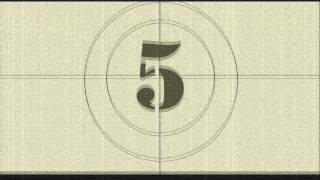 Classic Movie Countdown Intro - Sony Vegas Pro Intro [MEUDIG]