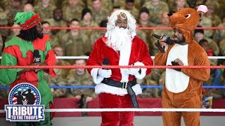 The New Day, Carmella & R-Truth bring holiday cheer to Fort Hood: WWE Tribute to the Troops