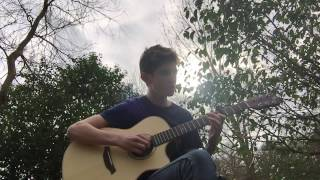 Martin Garrix ft. Dua Lipa - Scared To Be Lonely (Fingerstyle Guitar)