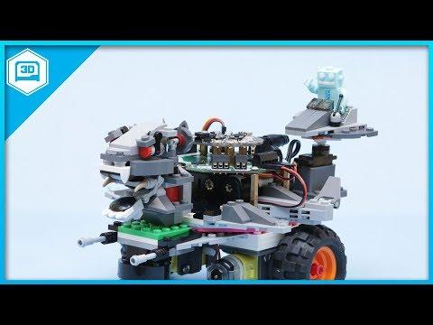 CRICKIT Rover with LEGO // #3DPrinting #adafruit #LEGO #Robotics