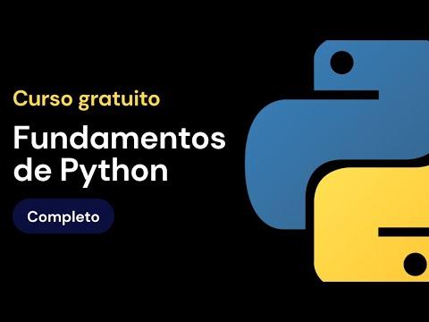 Curso de fundamentos de Python - COMPLETO
