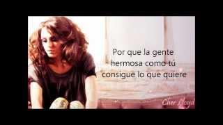 Cher Lloyd- Beautiful People (español)
