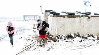 Líbano: Refugiados sírios entregues aos rigores da tempestade Alexa