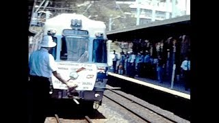 Brisbane Rail Electrification 1979 Opening day. Silent Movie width=