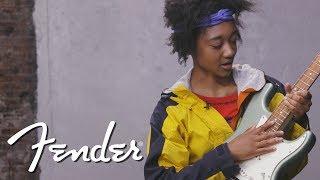 Melanie Faye Demos The Player Series Stratocaster® | Fender
