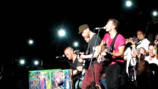 """Coldplay """"Speed of Sound"""" Live at Izod Center NJ 8/3/12"""