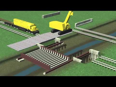 Train Bridge Construction Phasing