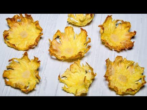 ДЕКОР: Цветы из ананаса ☆ ПРОСТО и ДОСТУПНО ☆ Pineapple FLOWERS