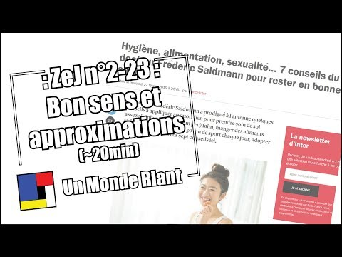 Zététique et journalisme - #2-23 - Bon sens et approximations