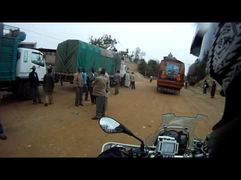 London to South Africa Motorcycle Expedition – Riding through Moyale, Kenya
