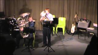 I'll Love my Love- Gustav Holst- Live Euphonium Solo