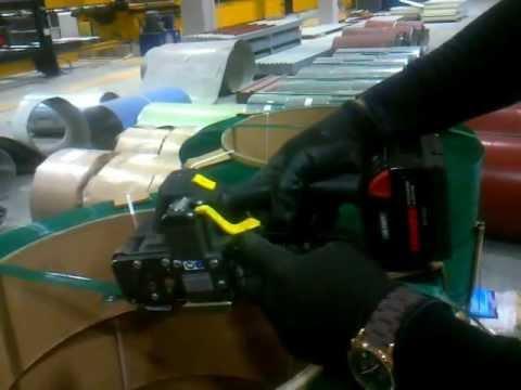 Akülü Şarjlı Palet Çemberleme Makinası-TEKSA AMBALAJ 0312 395 21 41