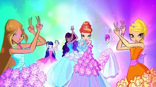 Winx Club 6x01 - Winx & Daphne's Sirenix Transformation (Greek/Instrumental)