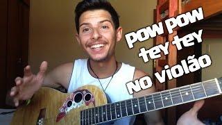 Pow pow tey tey- Mc Dede no violão !