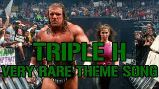 Very Rare TRIPLE H Theme Song (from 2000)