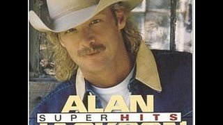 Alan Jackson - I Don't Need The Booze (To Get A Buzz On) Lyrics on screen