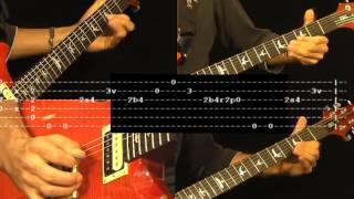 Young Lust Guitar Lesson &TAB Pink Floyd 5/5 Full Song ww.farhatguitar.com