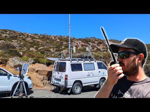 We have a new Field Day van! Winter Field Day 2021 | Ham Radio