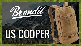 video - Batoh BRANDIT US COOPER DAYPACK - Military Range CZ/SK