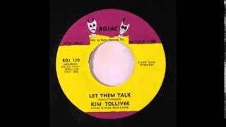 "Kim Tolliver  ""Let Them Talk""   (1969)"