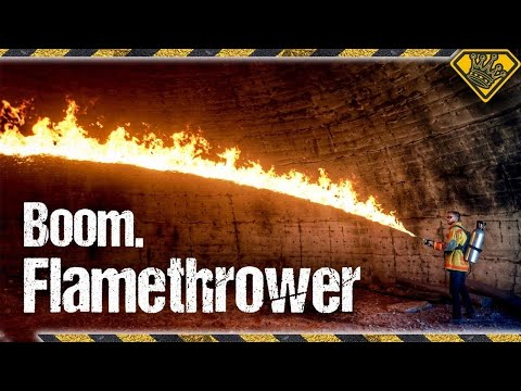 The Big Flamethrower Test! 🔥