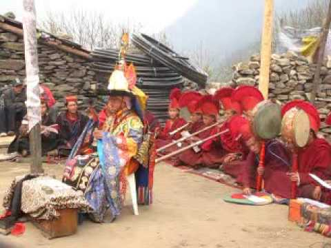 Ceremony and Tibetan Dance in Nepal