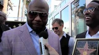 Boyz II Men Get A Star On The Walk of Fame