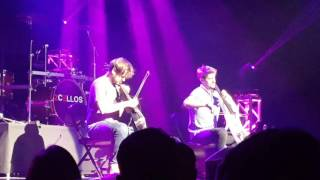 2CELLOS (live) Every Breath You Take Atlanta