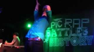 Rasputin vs. Stalin ~ Epic Rap Battles of History Live!