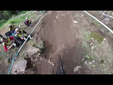 Helmet Cam Polygon UR Team | Val Di Sole 2018 |Kenta Gallagher