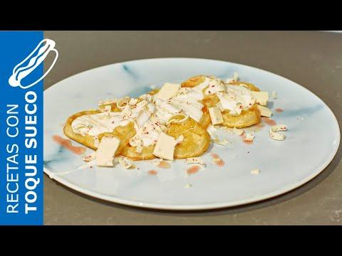 Receta fácil de gofres con mousse de queso, arándanos y miel – IKEA