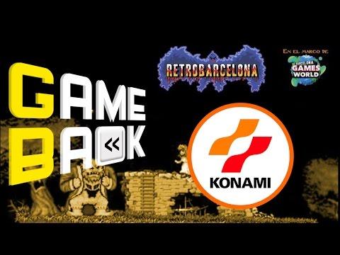 GameBack   RetroBarcelona 2016   Historia de Konami