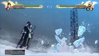 "Naruto STORM 4 - Zabuza x Haku ""Cold Blade of the Blood Mist"" Team Ultimate"