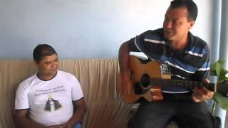 Nilsinho  e Sinesio Violeiro  cantando musica de Fagner ( Retrovisor)
