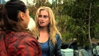 Bellarke: Clarke sees Bellamy (The 100: 02x05)