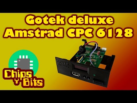 Review Gotek Deluxe Amstrad CPC 6128