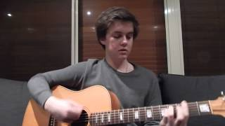 Upside Down - Jack Johnson (Cover by Mitchell Martin)