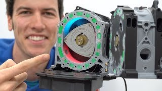 This 3D Printed Rotary Engine Is Genius - Mazda RX-7