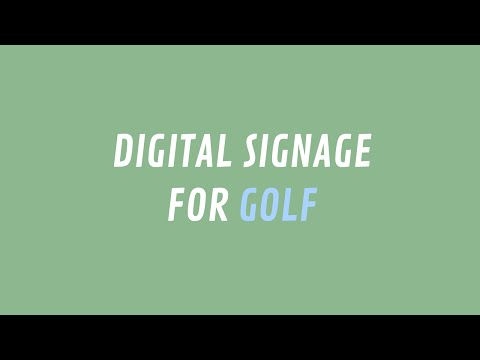 Thinking of Digital Signage for Your Club?