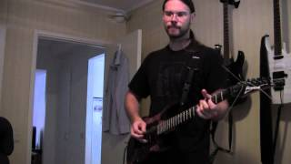 The Haunted - Chokehold - Guitar Cover by Emil Rudegran