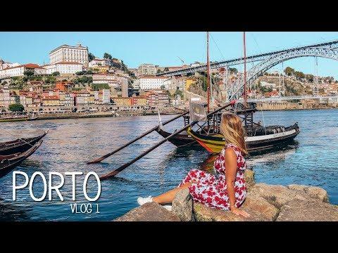 Porto: exploring the Douro riverside | Vlog 1