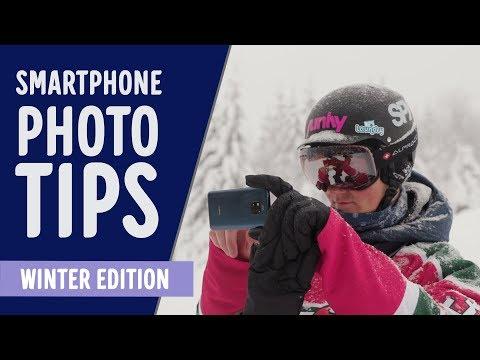 13 tips til å ta bedre vinterbilder med mobilen