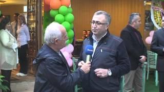 Türkiye Fırıncılar Federasyonu Başkanı Halil İbrahim Balcı'da açılıştaydı