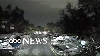 Tornadoes leave trail of destruction in Texas l ABC News