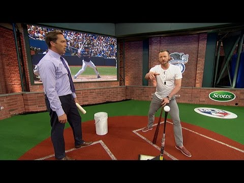 Donaldson Explains His Swing in Studio 42 - YouTube