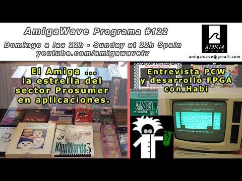 Programa #122 - Aplicaciones Pro de Amiga, Entrevista con Habi sobre PCW y desarrollo FPGA.