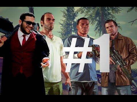 Grand Theft Auto V : Hesham afifi #1 - #1 قراند زفت اوتو حرامي السيارات بتعليق هشام عفيفي