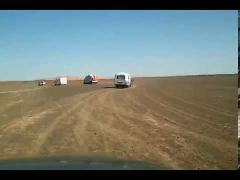Caravan Off Piste in the Sahara