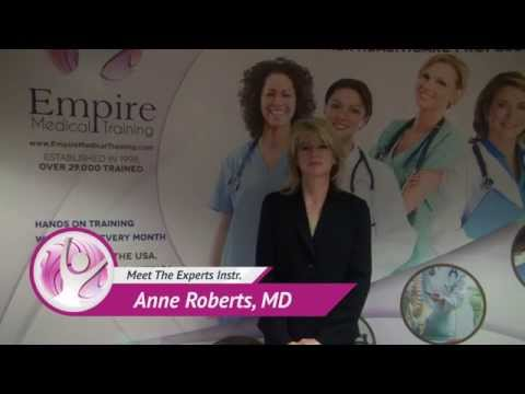 Meet The Experts by Dr. Anne Roberts - Empire Medical Training